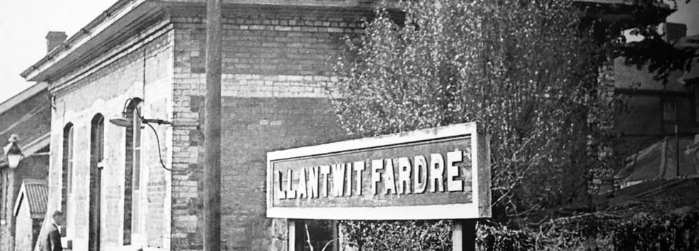 Llantwit Fardre Railway Station