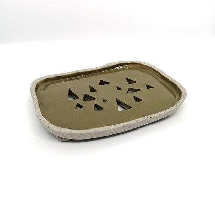 Alpine soap dish