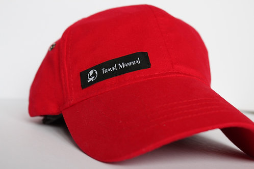 Red TravelMammal Cap