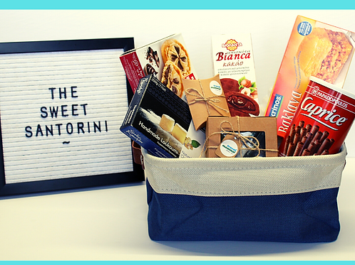 Put your goodies in a small basket!