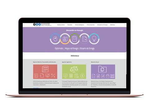 Sitio web Electricas