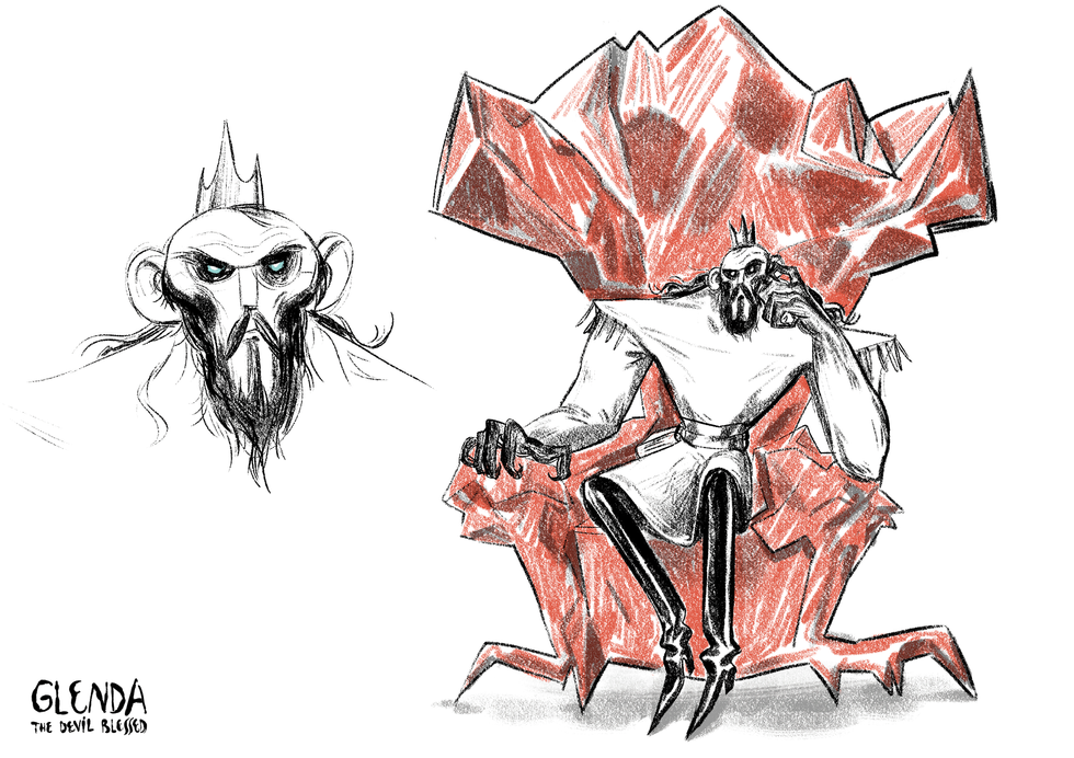 The King - Character Design
