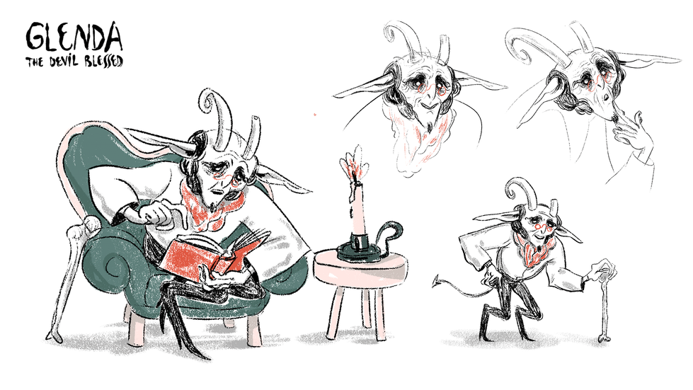 Devil - Character Design