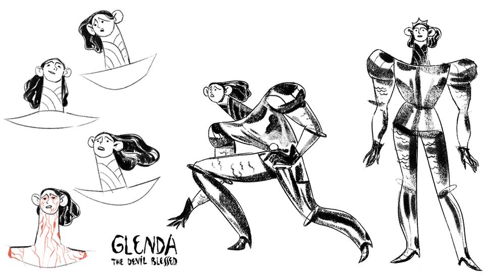 Glenda - Character Design