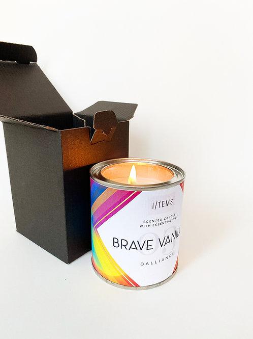 Brave Vanilla LGBTQ свещ