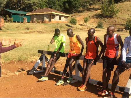 Nathan Flear's Kenyan Ultra Marathon Team