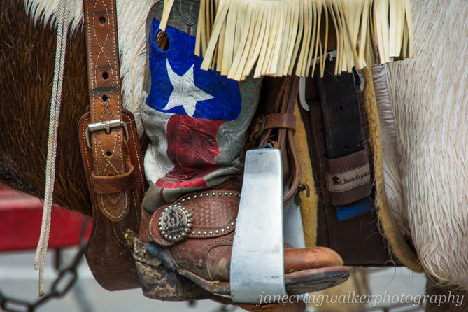 TX Flag Boot
