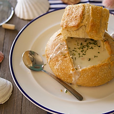 Clam Chowder (Bread Bowl)