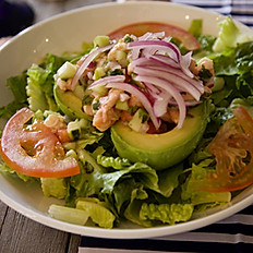 Stuffed Avocado Shrimp Ceviche