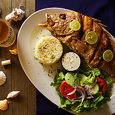 Whole Fry Red Snapper