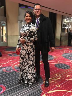 Premio Ascap Con Gina Molinares