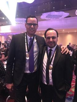 Premio Ascap con Andres Castro (Carlos V