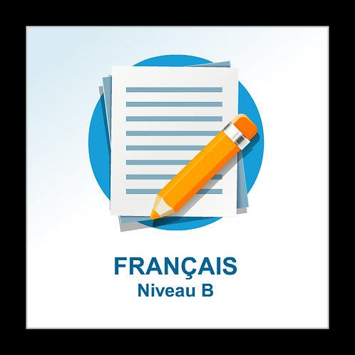 Français - niveau B
