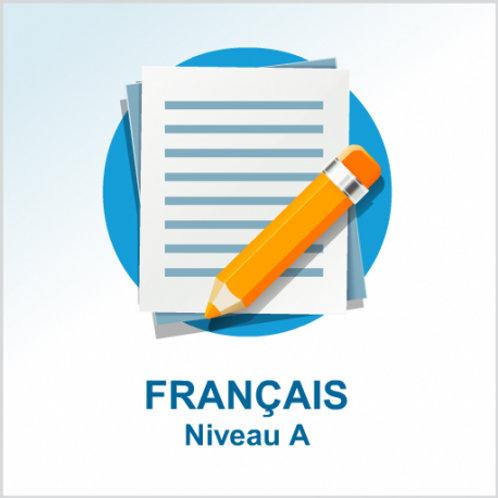 Français - niveau A
