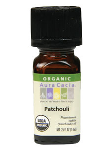 PATCHOULI ORGANIC ESSENTIAL OIL .25 OZ