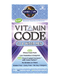 VITAMIN CODE 50 & WISER MEN 120 VCAPS