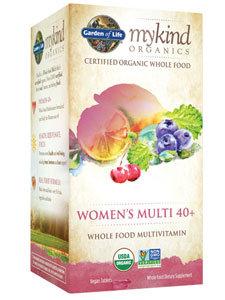 WOMEN'S MULTI 40+ ORGANIC 60 TABS