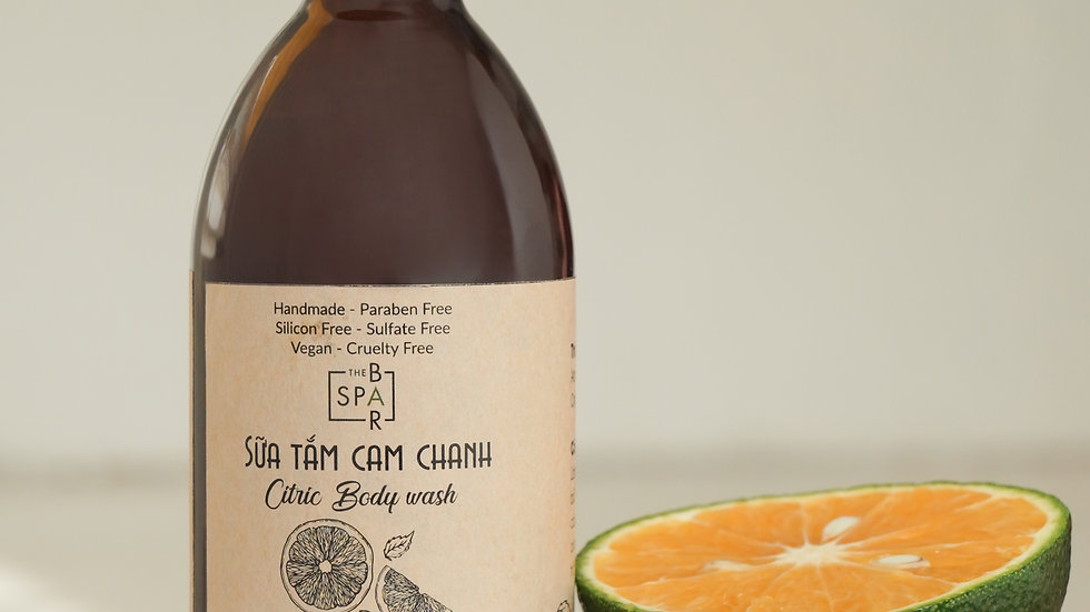 Sữa tắm (Cam & Chanh) 250ml