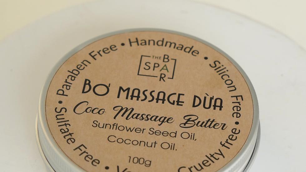 Bơ Massage Dừa