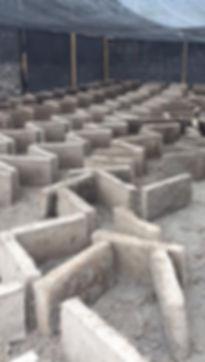 préparation des blocs d'adobe ©surtierra