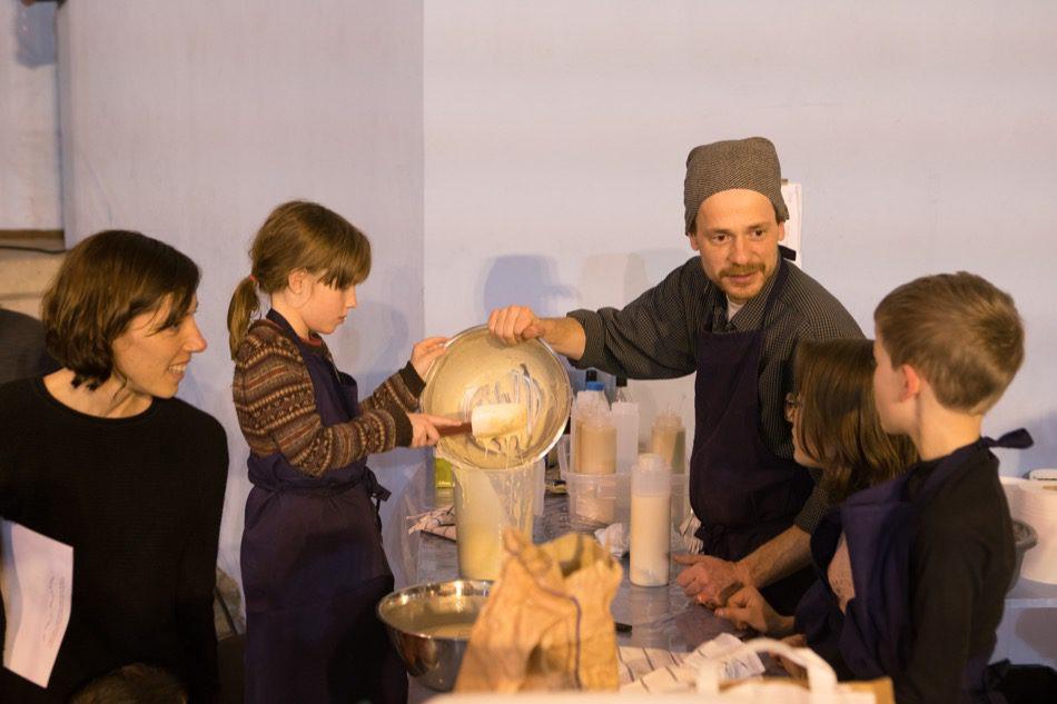 Arles, préparation du repas
