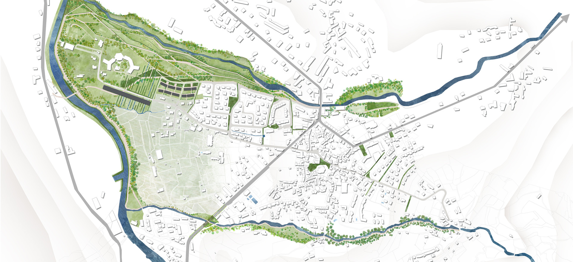 Projet d'aménagement urbain