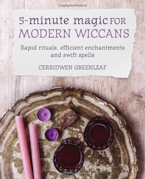 5 Minute Magic by Cerridwen Greenleaf. Published by Cico Books