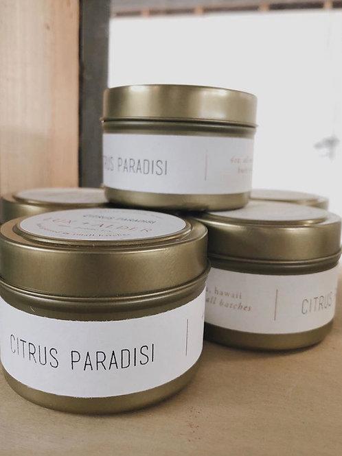 Tin Citrus Paridisi Candle