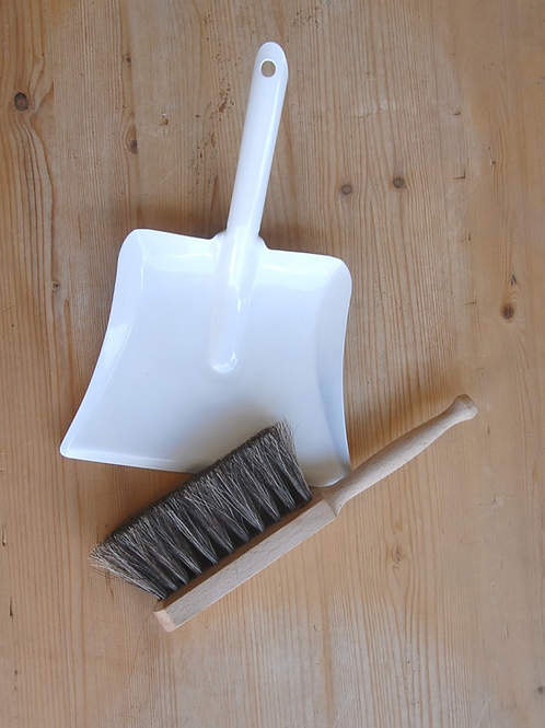 Small Dustpan and Brush Set