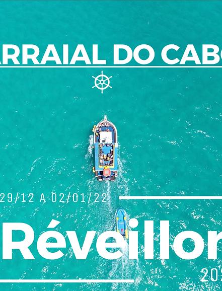 29 a 02/01 - Arraial do Cabo - RJ I Réveillon 2022