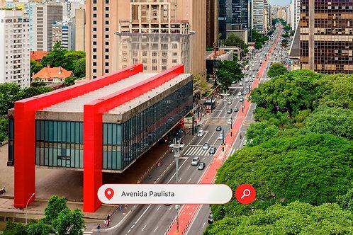 Visite de la ville de São Paulo Av. Paulista