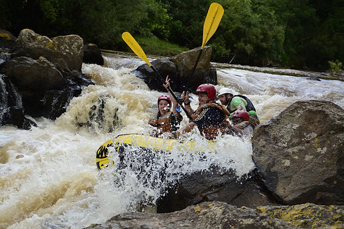 30/01 - Rafting + Pedra Bela