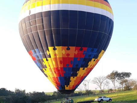 Passeio de Balão em Boituva - SP