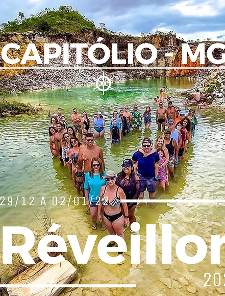 29 a 02/01 - Capitólio-MG I Réveillon 2022