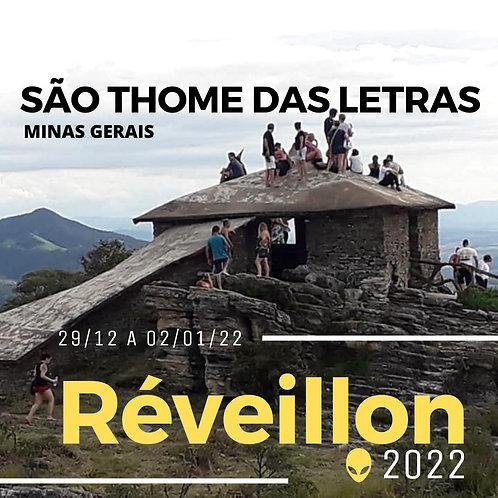 29 au 02/01 - São Thomé das Letras - MG I Nouvel An 2022