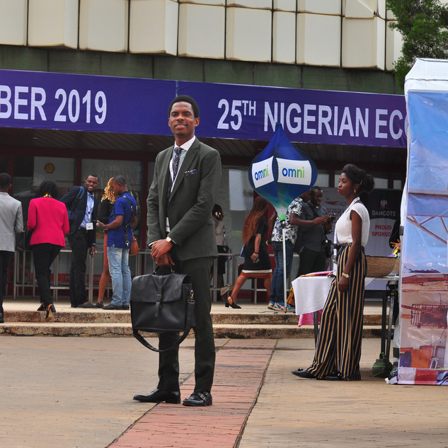 At the 25th Nigerian Economic Summit in Abuja