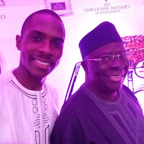 When I met with Pa Ayo Adebanjo...