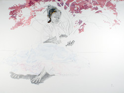 Underneath the Cherry Blossoms-Hands