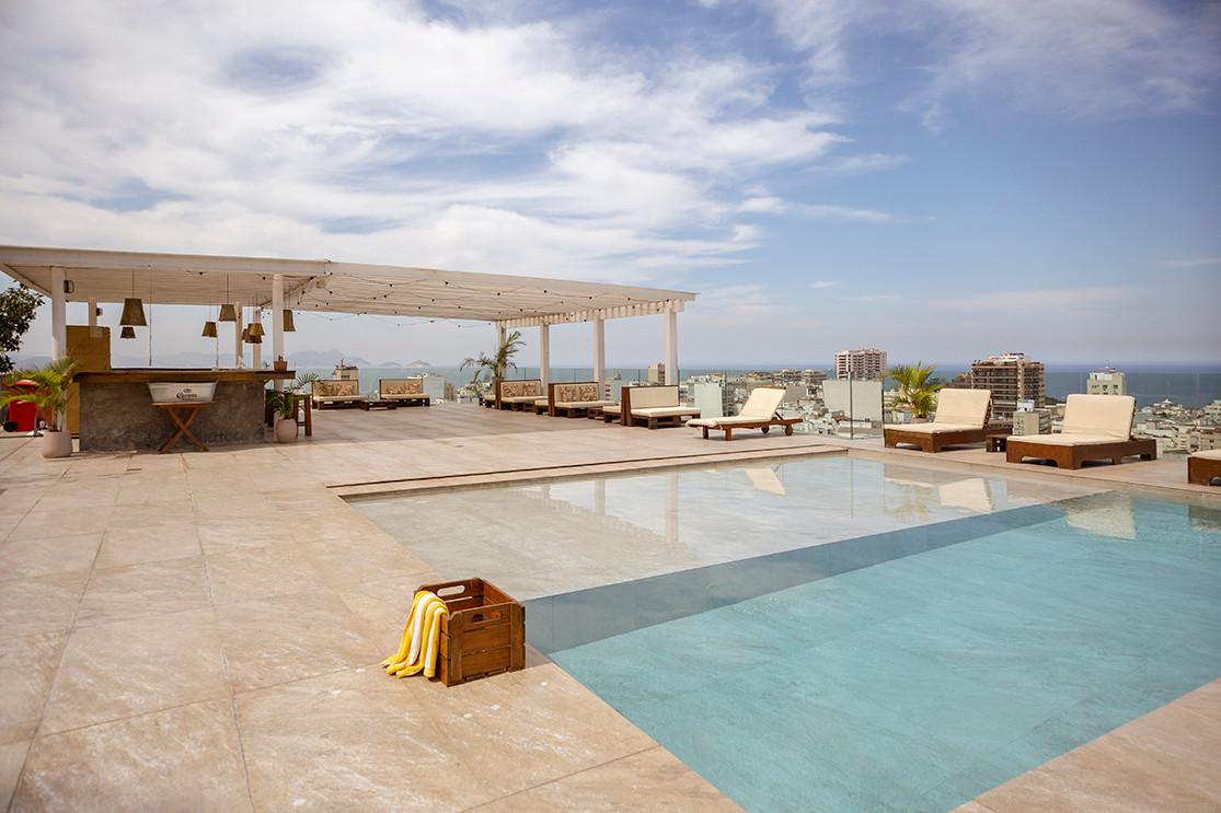 L'Homme de Rio Hotel - Rooftop Pikok - F
