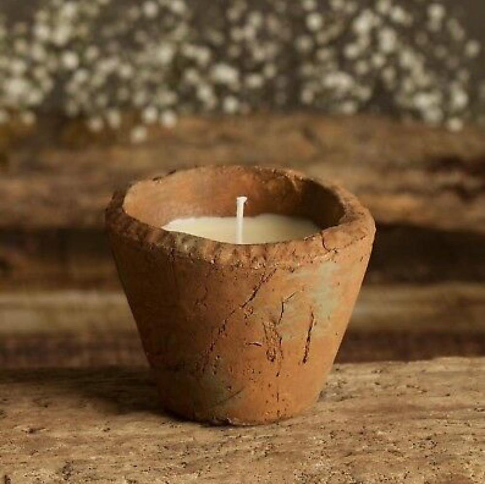 St Eval Wild Gorse Scented Small Hedgerow Candle Pot