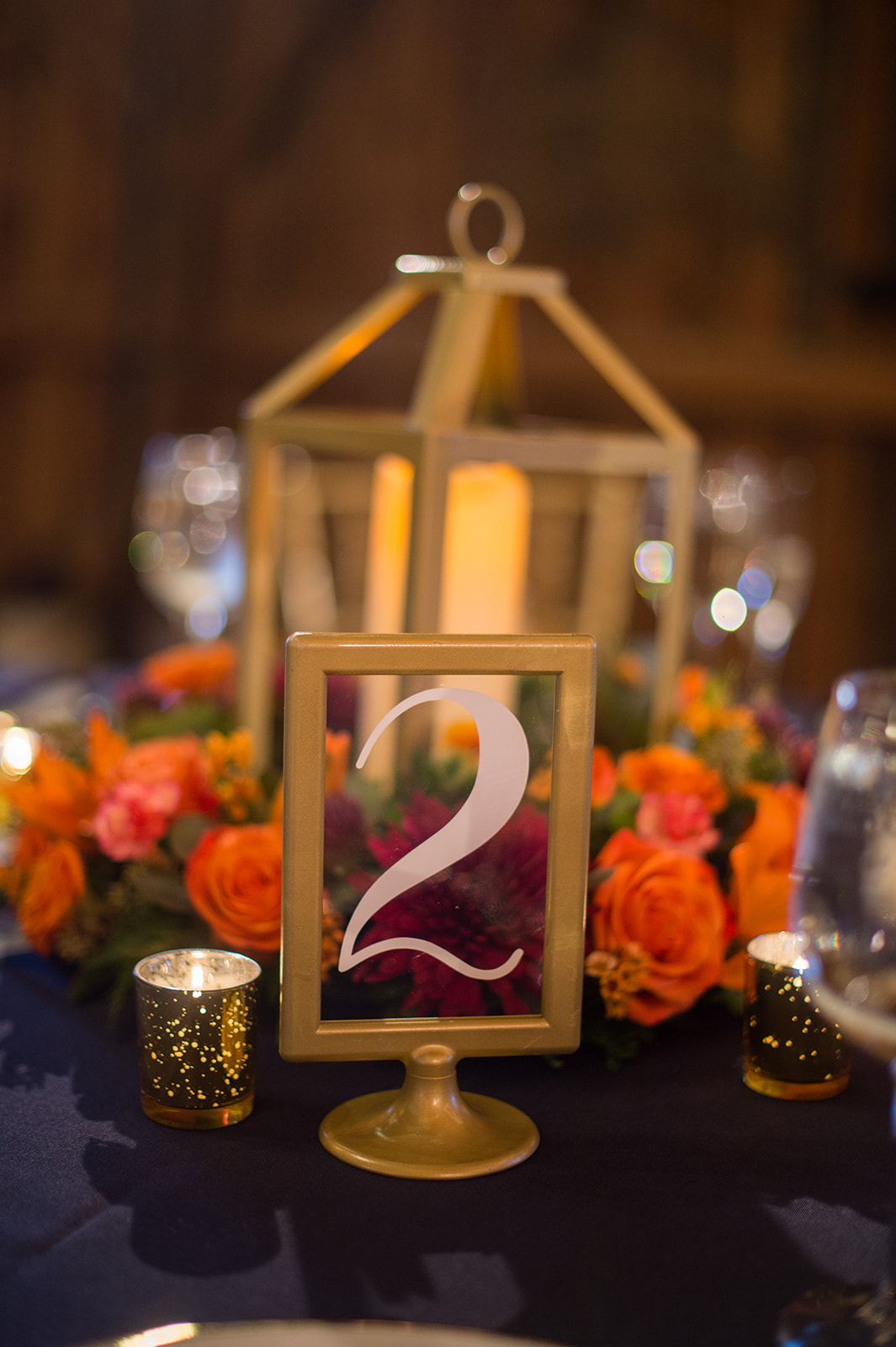 Lanterns and Table Numbers