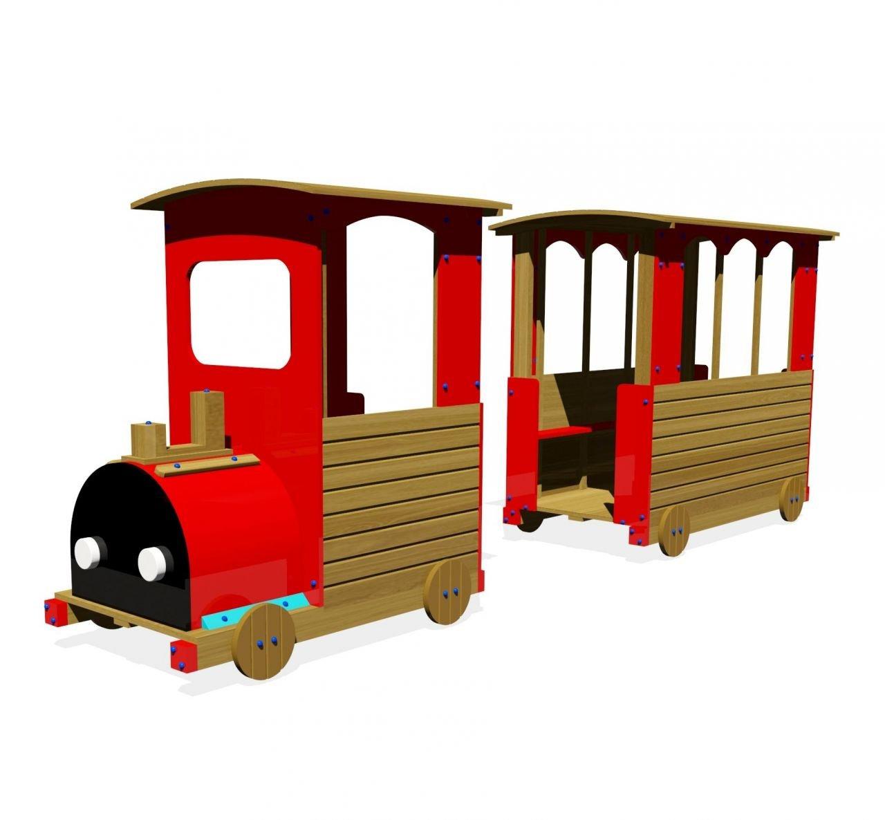 Vagonlu Tren Koza Toys