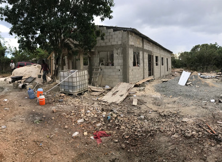 Progress report - Church build