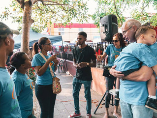 YWAM in the streets of San Pedro, Dominican Republic.