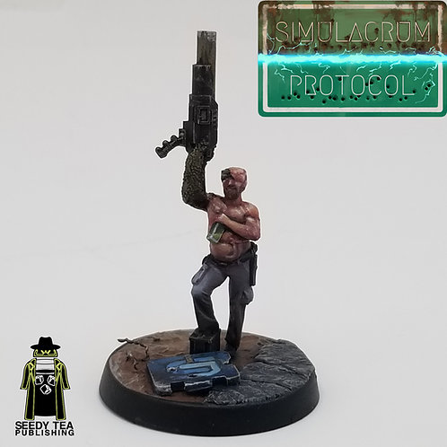 Bartholomew 'Half-Machine' Krenshaw -Bear Legion Commander
