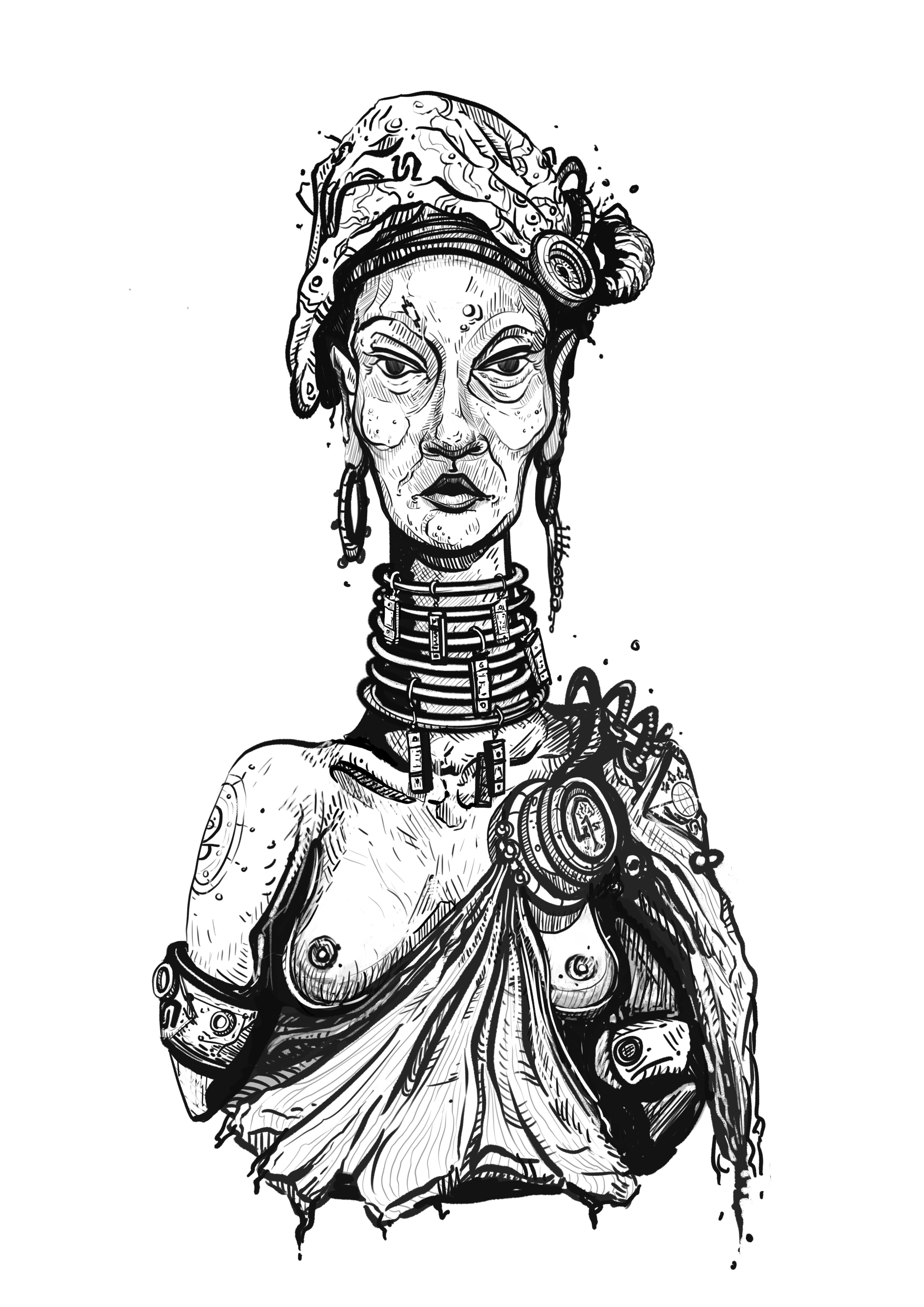 Repudiator Portrait 2