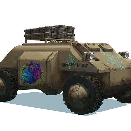 Locust Support Vehicle