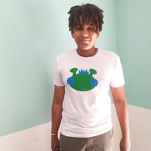 T-Shirt / Willy grün