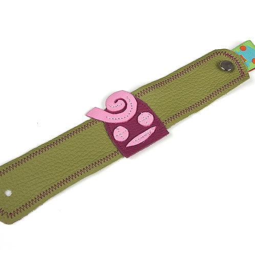 Armband grün / Lilly