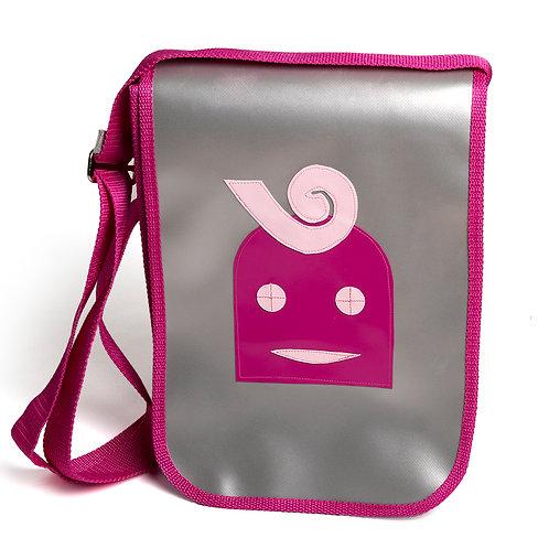 Tasche silber / Lilly pink